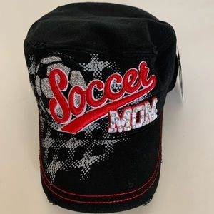 Top Headwear Soccer Mom Distressed Cadet Cap